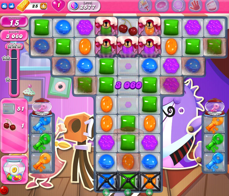 Candy Crush Saga level 2577