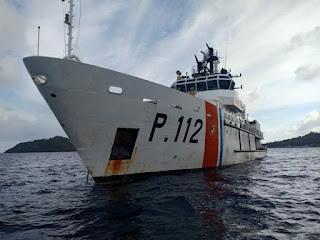 Usai Nataru, Kapal Patroli KPLP  Ikut Pengawasan Pengamanan Di Natuna