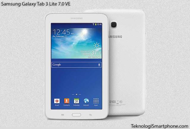 Spesifikasi dan Harga Samsung Galaxy Tab 3 Lite 7.0 VE