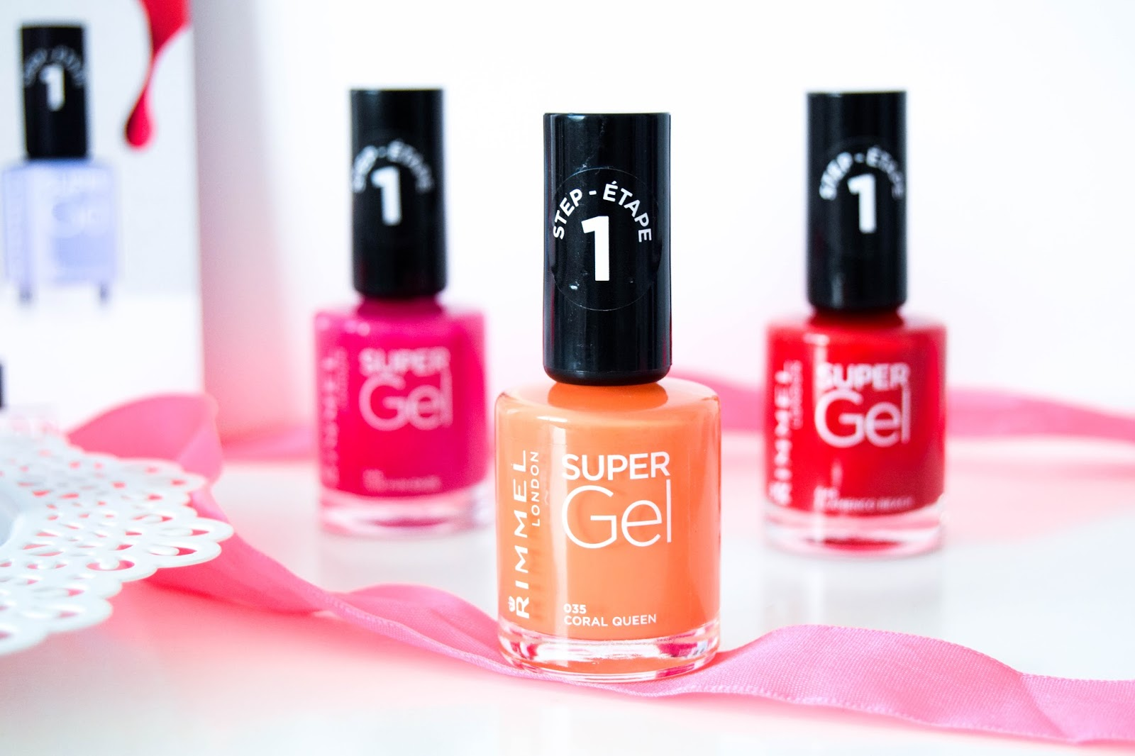 Rimmel Super Gel Nail Polishes Beach Ready Collection
