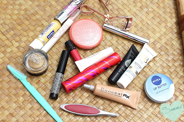 What I Packed for Connecticut: Makeup