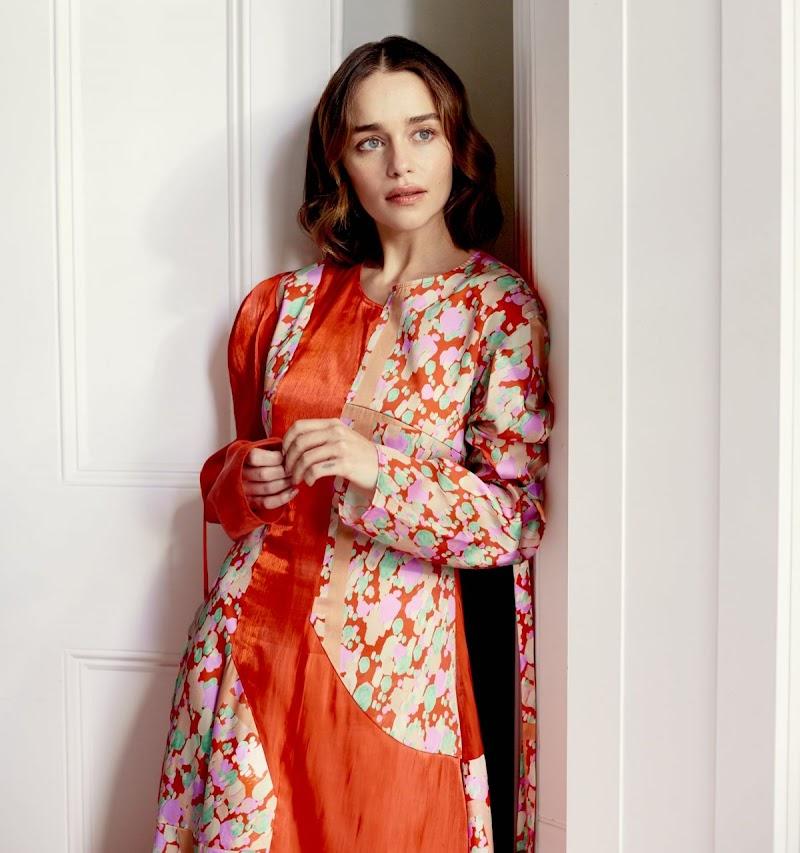 Emilia Clarke Featured  in The Observer Magazine - December 2019