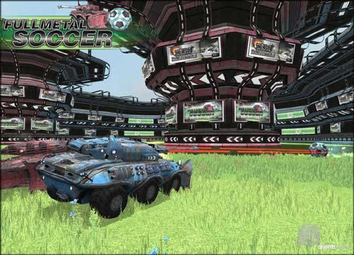 لعبة اكشن حرب دبابات الكرة المعدنية Full Metal Soccer مجانا