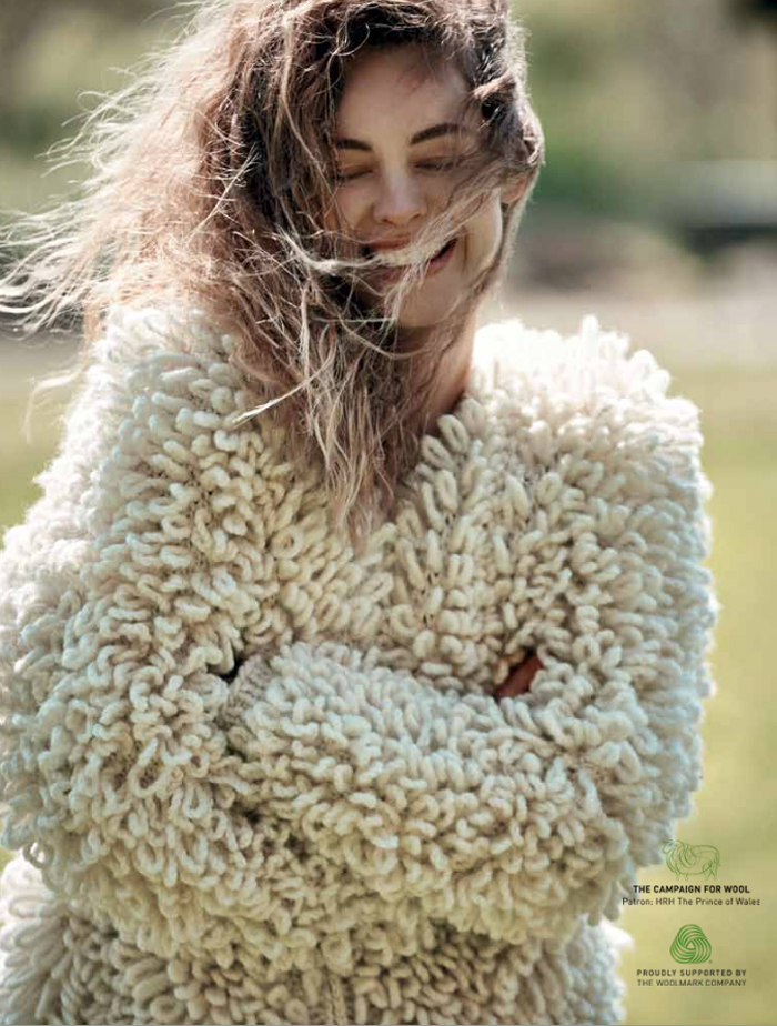 beauty of wool