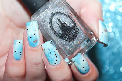 Blue Sky Nail Art