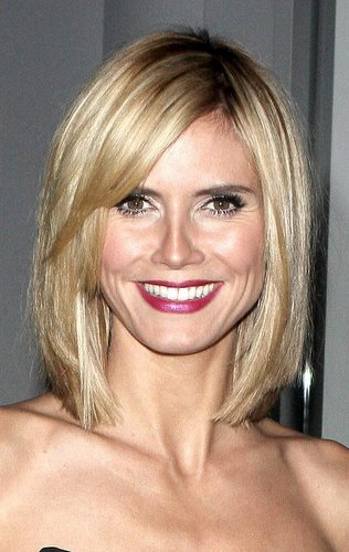 Celebrity Hairstyle Heidi Klum Photos