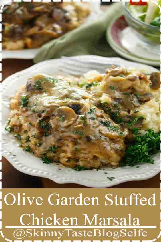 4.8 | ★★★★★ Make a classic Olive Garden meal from the comfort of your home with this ultra flavorful Stuffed Chicken Marsala recipe straight from the restaurant itself! The Cozy Cook  #chicken #olivegarden #copycatrecipes #chickenmarsala #dinner #comfortfood