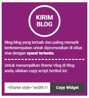 Cara Daftar dan Kirim Artikel di Vivalog Terbaru