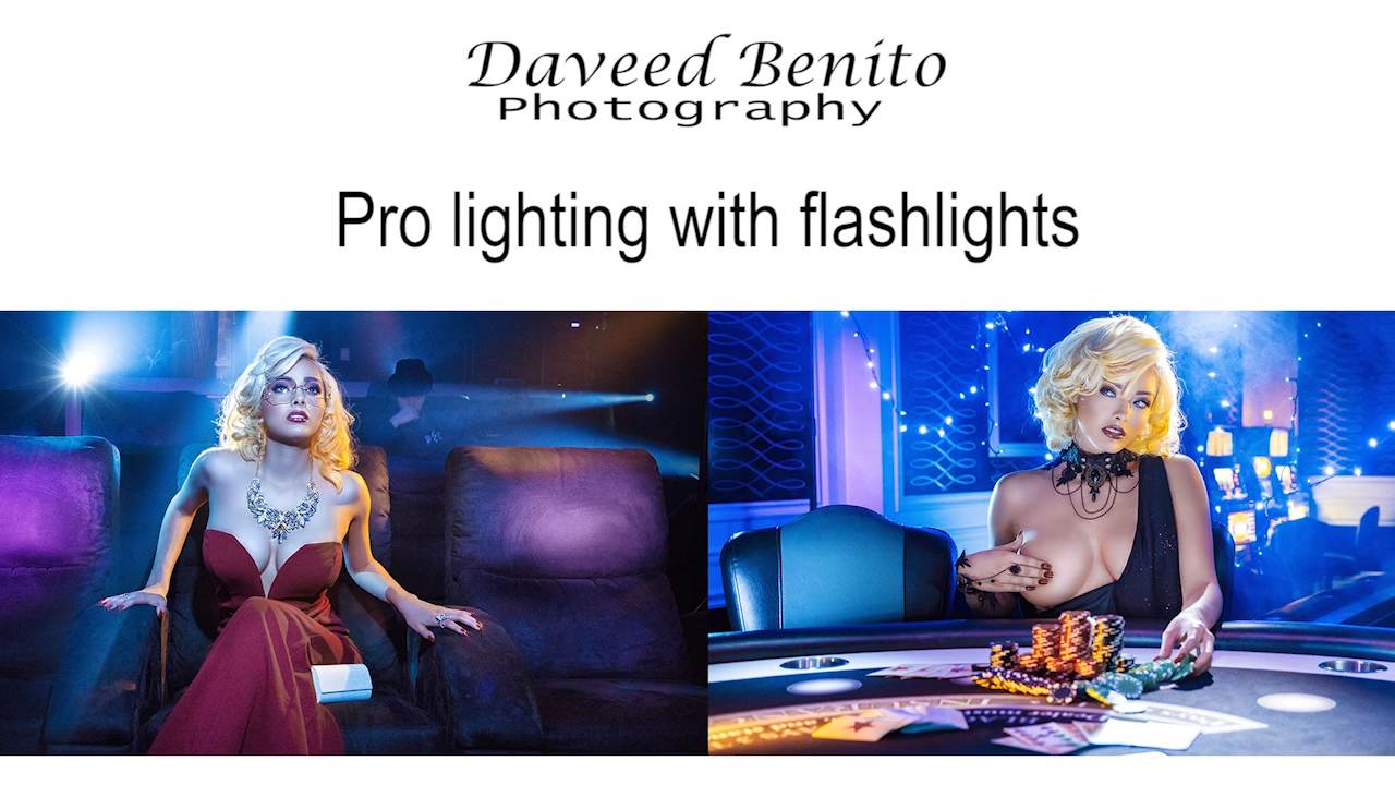 Portraits: Pro Lighting with Cheap Flashlights by Daveed Benito