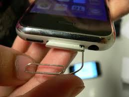 Comment Retirer La Carte Sim Dun Iphone Iphone 4 4s 5 6