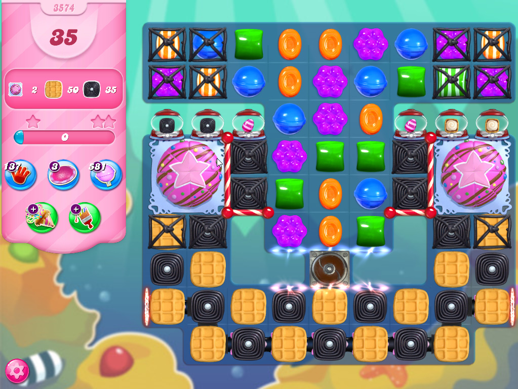 Candy Crush Saga level 3574