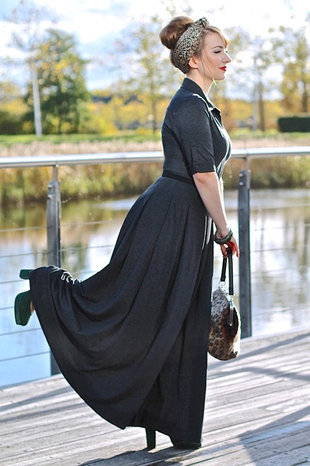 eShakti custom made vintage style jumpsuit review