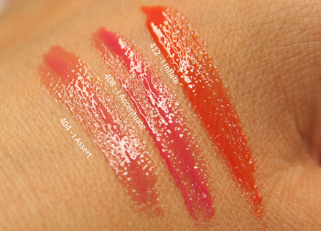 L'Oreal - Brilliant Signature Plump-in-Gloss - Review & Swatches