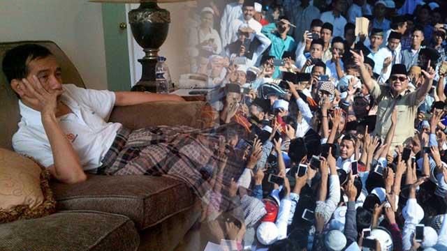 Militansi Relawan Mengendur di Jokowi, Menguat di Prabowo