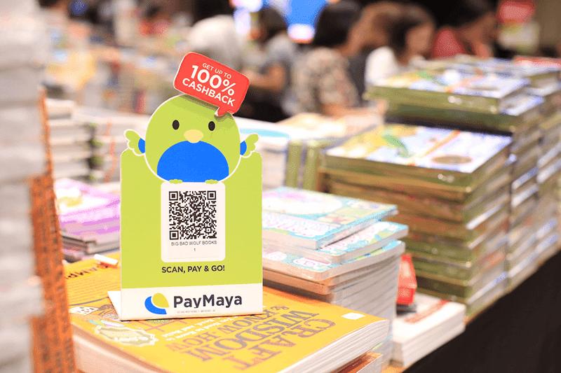 PayMaya offers treats and cashbacks at Big Bad Wolf Book Sale in Pampanga