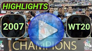 ICC World Twenty20 2007 Match Highlights Online