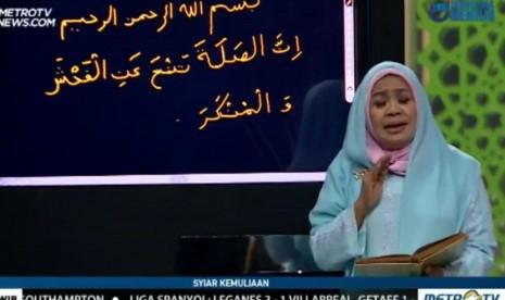 Nani Handayani Salah Tulis Ayat, Mahfud MD : Stasiun TV Jangan Asal Pilih Narasumber