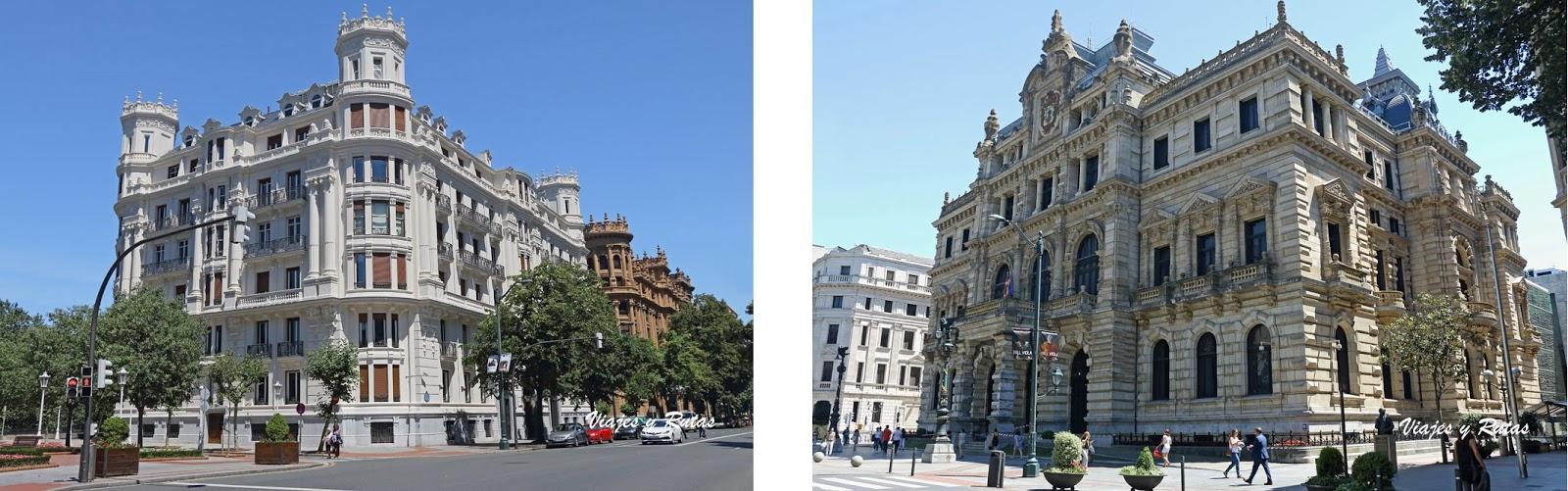 Edificios de la Gran Vía de Bilbao