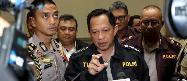 11 Terduga Teroris Ditangkap Terkait Teror Bom di Polres Indramayu