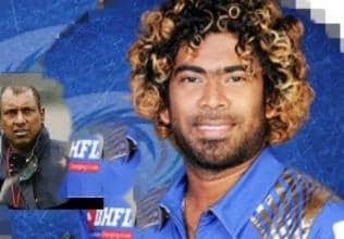 Lasith Malinga Replies to aravinda de silva