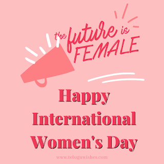 Future is female Women's Day Instagram Posts
