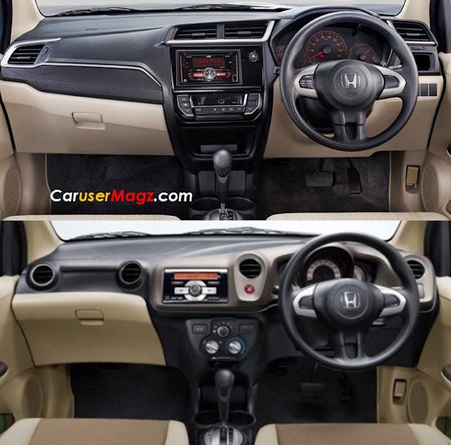 Perbedaan Dashboard Brio Facelift 2016 dan Brio Lama