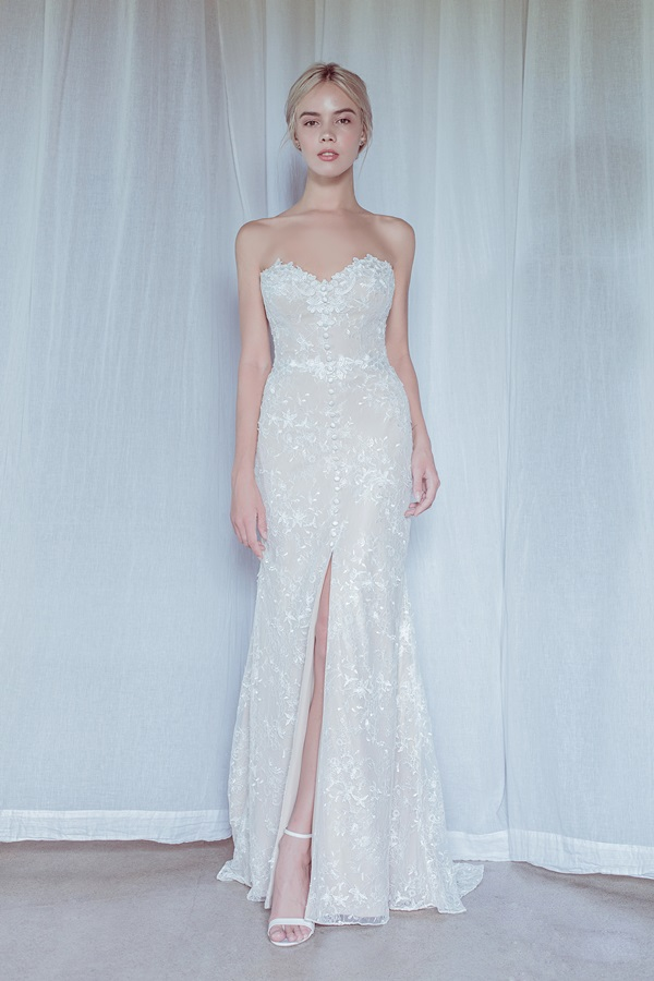 OUI The Label Stolen Moments Collection bridal gown