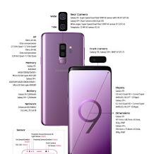 Spesifikasi Samsung Galaxy S9 dan Samsung Galaxy S9+
