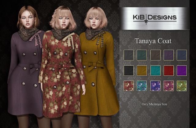 KiB Designs - Tanaya Coat & Jagger Suit @Designer Showcase