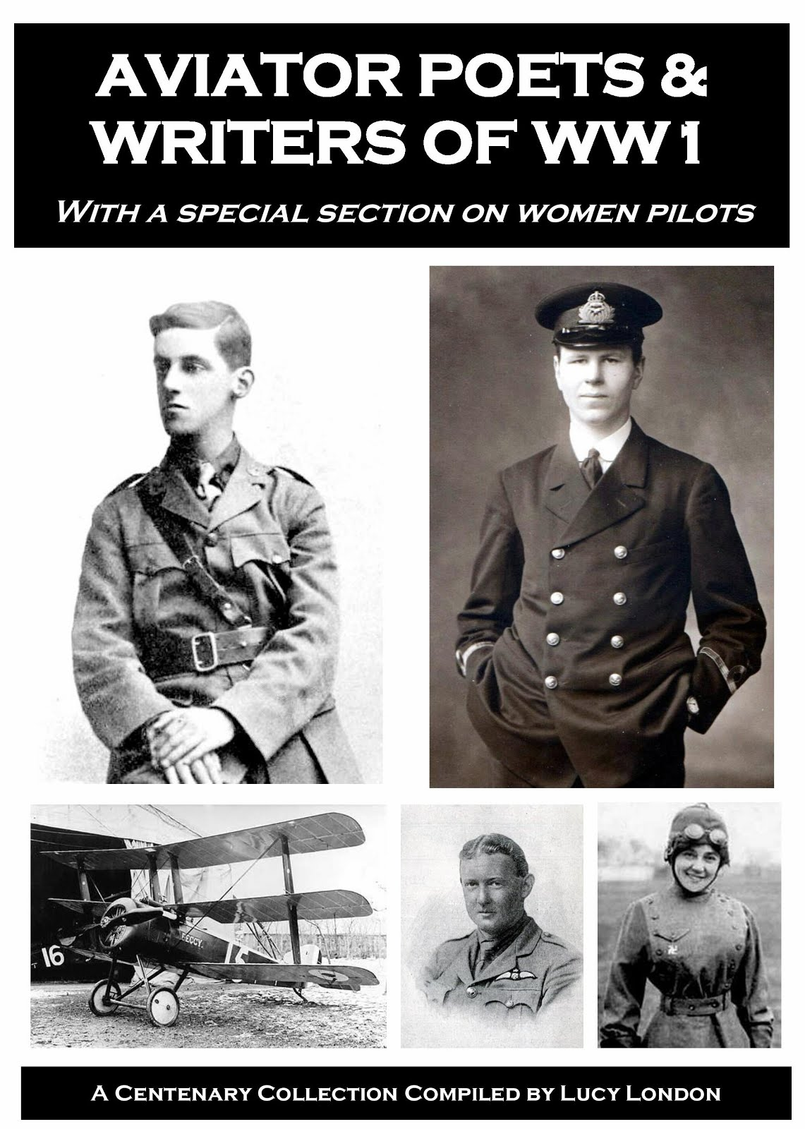 Aviator Poets & Writers of WW1 - Book Now Available