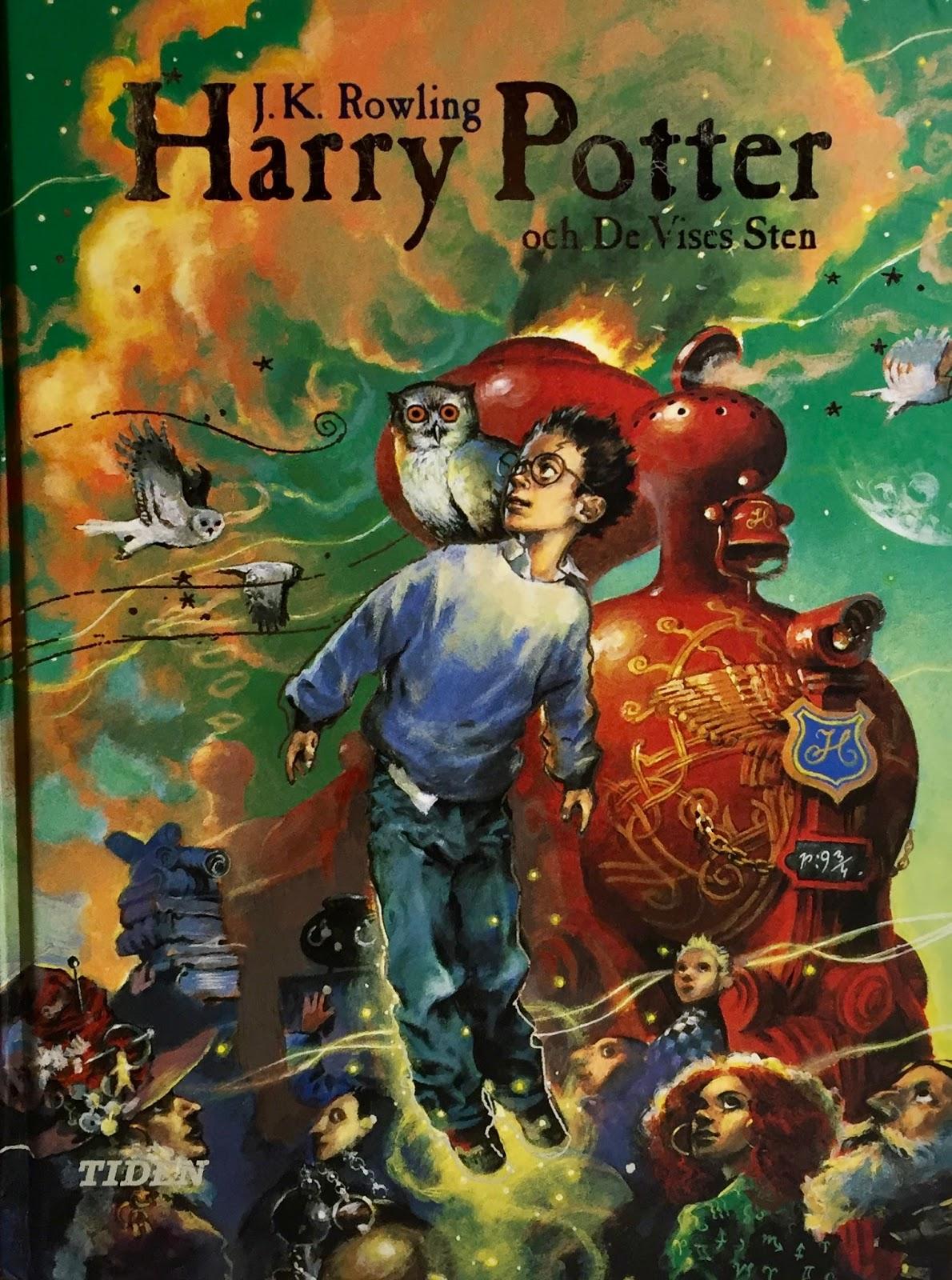 harry potter och dödsrelikerna bok