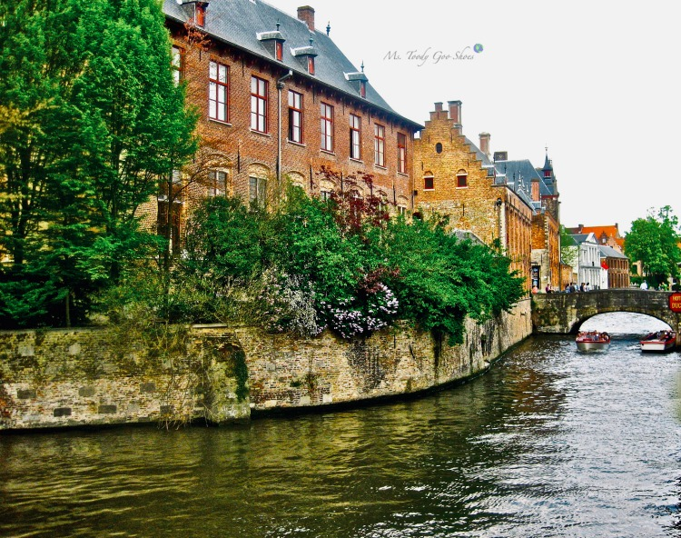 "There's a reason Bruges is called ""The Venice Of The North."" #belgium 