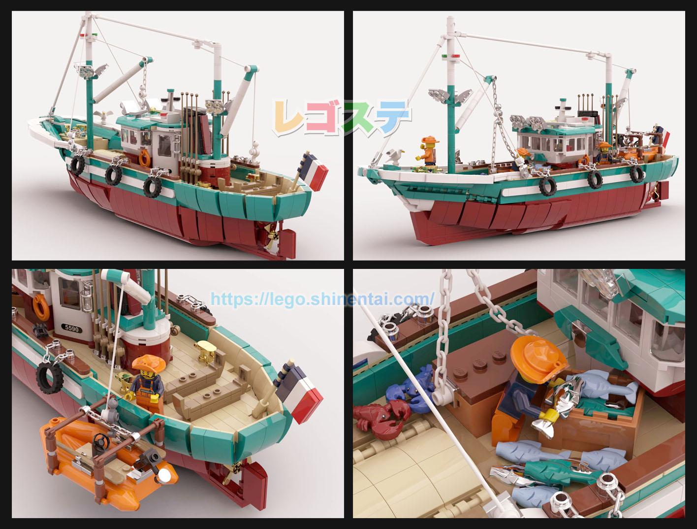 大型漁船:The Great Fishing Boat