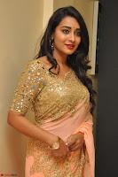 Bhanu Shri looks stunning in Beig Saree choli at Kalamandir Foundation 7th anniversary Celebrations ~  Actress Galleries 039.JPG