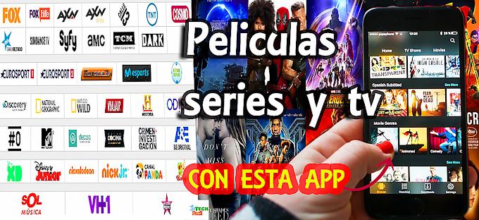 La nueva aplicación donde puedes ver películas gratis y canales de televisión totalmente gratuitos