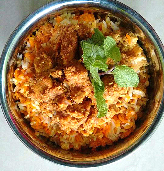 Boneless Chicken Tikka Biryani ~ Veg And Non-Veg Indian ...