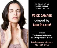 Repair Your Voice Acid Reflux