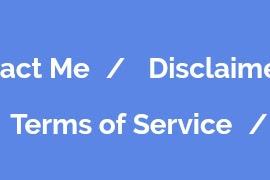 Cara Membuat Privacy Policy, Disclaimer dan Terms of Service Blog Untuk adsense
