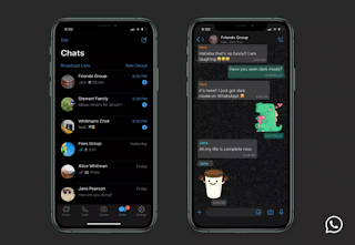 WhatsApp Merilis Mode Gelap Dan Siap Digunakan