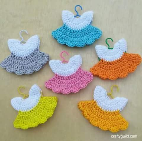 Recordatorio Baby Shower a Crochet