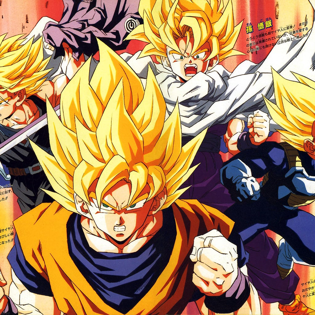 wallpaper, dragon ball