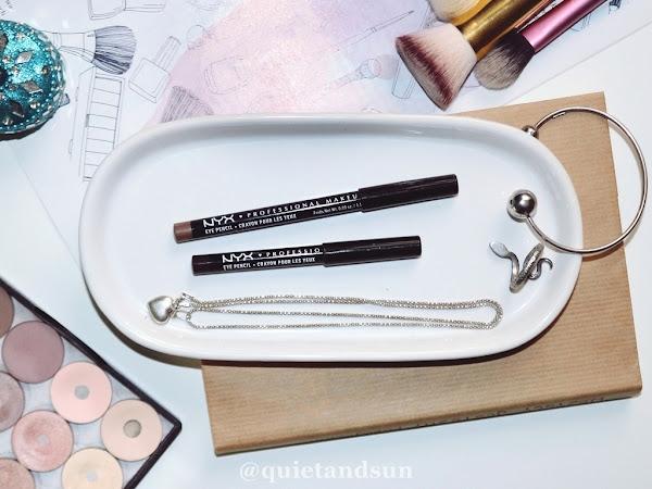 Kredki do oczu NYX Professional Makeup, Slim Eye Pencil