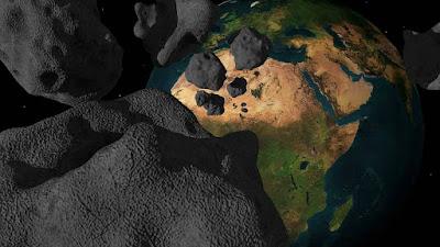Um pequeno asteróide pode estar em rota de colisão com a Terra