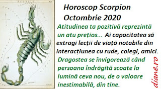 Horoscop Scorpion Octombrie 2020