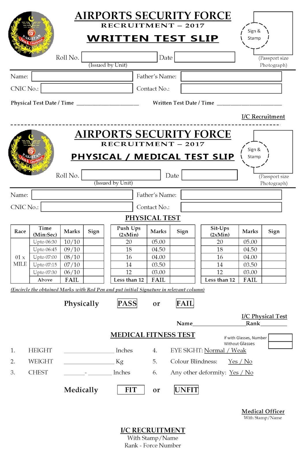 1200+ ASF Jobs 2017 Download Application Form Airport Security ...