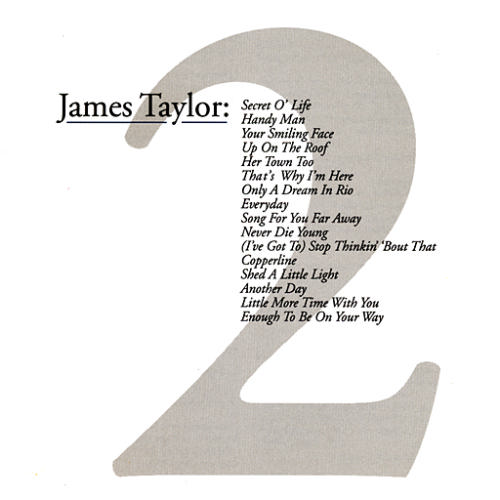 The CD Project: James Taylor - Greatest Hits 2 (2000)