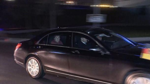 Il cancelliere Merkel è arrivato a Istanbul su invito di Erdogan