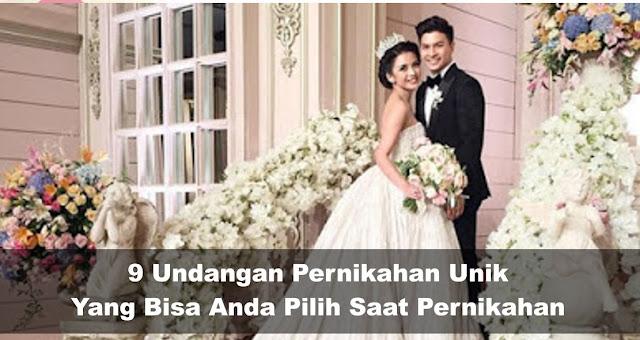 Macam-macam Undangan Pernikahan yang Tidak Kamu Duga!