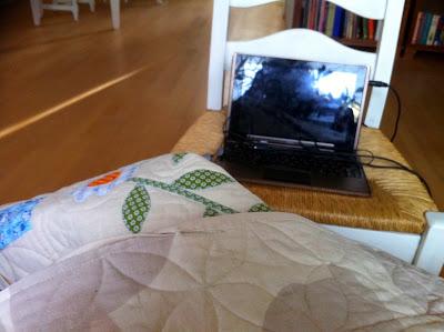 Series kijken tijdens naaien