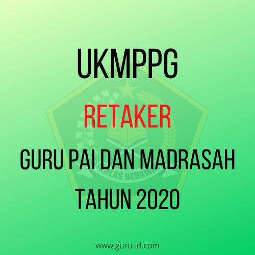 gambar UKMPPG Retaker Guru Madrasah dan Guru PAI Tahun 2020